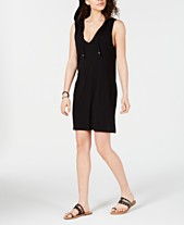 c479b719ed Miken Sleeveless Hoodie Swim Cover-Up