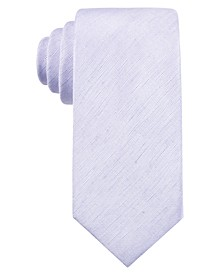 Men's Seasonal Solid Slim Tie, Created for Macy's