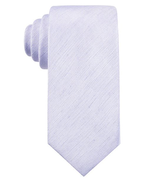 Ryan Seacrest Distinction Men's Seasonal Solid Slim Tie, Created for Macy's
