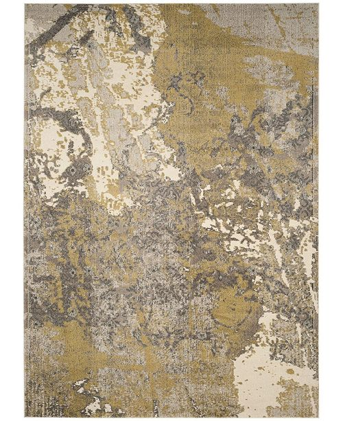 Safavieh Monaco Ivory and Gray 8' x 11' Area Rug