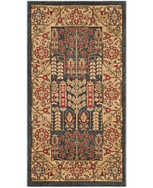 Safavieh Mahal Navy and Natural 3' x 5' Area Rug