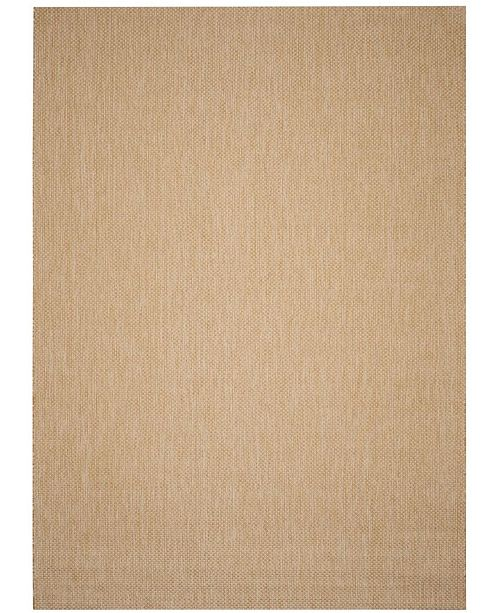 Safavieh Courtyard Natural and Cream 9' x 12' Area Rug