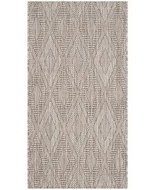 "Safavieh Courtyard Beige 2' x 3'7"" Sisal Weave Area Rug"
