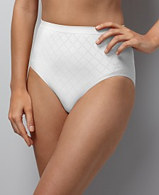 Bali Comfort Revolution Micro Diamond Brief Underwear 803J
