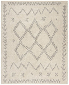 Safavieh Arizona Shag Ivory and Gray 8' x 10' Area Rug