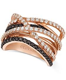 Diamond Statement Ring (1-1/2 ct. t.w.) in 14k Rose Gold