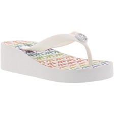 4bac89995e0 Michael Michael Kors Little and Big Girls Gage Taula Platform Flip Flops