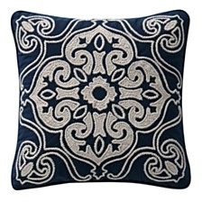 """Waterford Asher 16"""" X 16"""" Square Collection Decorative Pillow"""
