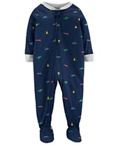 3b5a014f73 Carter s Baby Boys Footed Printed Pajamas