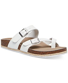 Madden Girl Betty Toe-Thong Footbed Sandals