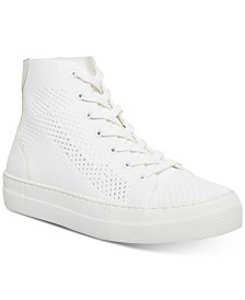 Madden Girl Boss Knit High-Top Sneakers