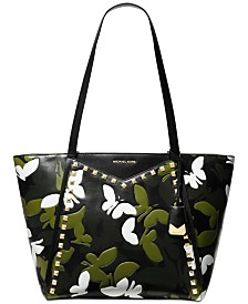 MICHAEL Michael Kors Whitney Camo Butterfly Tote