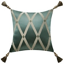 """Waterford Anora 16"""" X 16"""" Square Collection Decorative Pillow"""