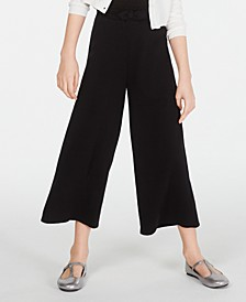 Big Girls Tie-Front Culottes, Created for Macy's