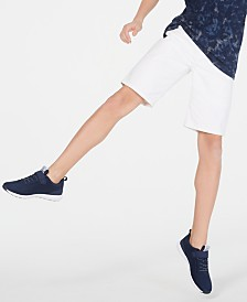 Epic Threads Big Boys White Denim Shorts, Created for Macy's