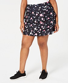 Ditsy Floral Printed Tiered Skort, Created for Macy's