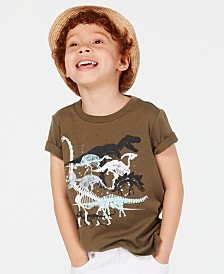 Epic Threads Little Boys Stacked Dino Graphic T-Shirt, Created for Macy's