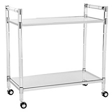 Duval Acrylic Bar Trolley