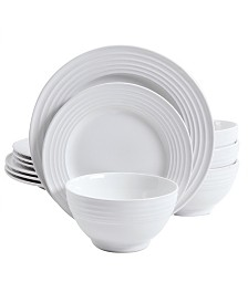 Plaza Cafe 12 Piece Dinnerware Set