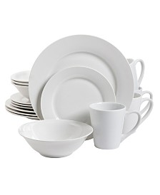 Noble Court 12 Piece Dinnerware Set, Fine Ceramic