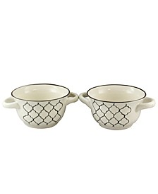 Mathiston 2 Piece 27 Ounce Soup Bowl