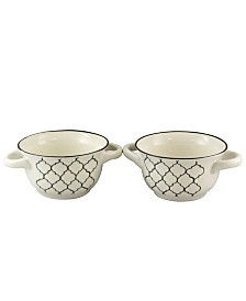 Crock-Pot Mathiston 2 Piece 27 Ounce Soup Bowl