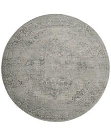 Safavieh Vintage Silver 6' x 6' Round Area Rug