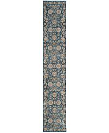 "Safavieh Vintage Persian Turquoise and Multi 2'2"" x 6' Runner Area Rug"