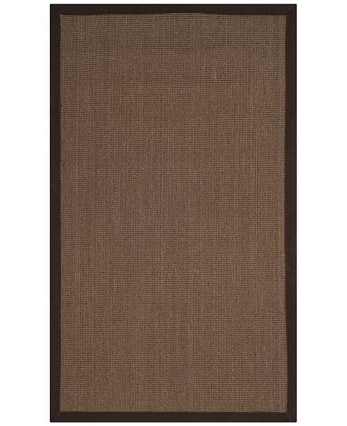 Safavieh Natural Fiber Brown 3' x 5' Sisal Weave Area Rug