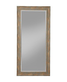 Martin Svensson  Antique Turquoise Farmhouse Full Length Leaner Mirror