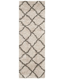 "Belize Taupe and Grey 2'3"" x 7' Runner Area Rug"