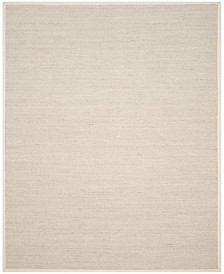 Natural Fiber Marble and Beige 8' x 10' Sisal Weave Area Rug