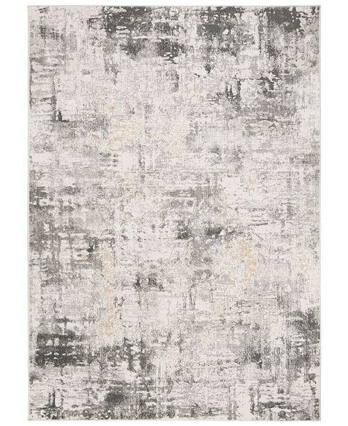"""Safavieh Vogue Beige and Charcoal 5'3"""" x 7'6"""" Area Rug"""