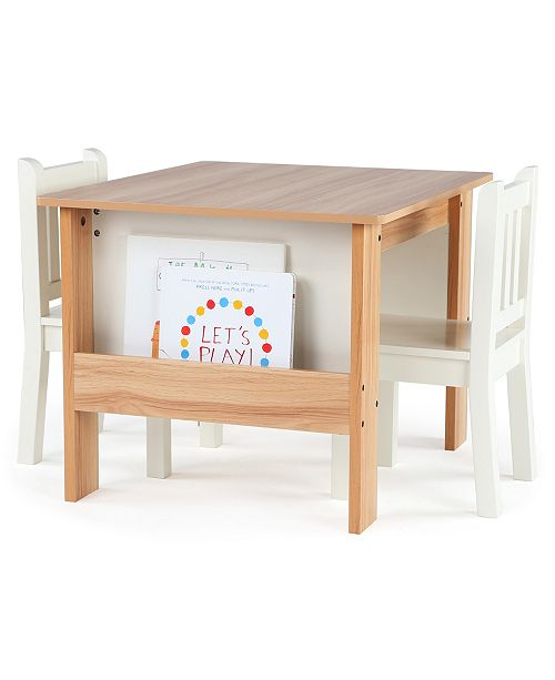 Amazing Kids Book Rack Storage Table And 2 Chairs Machost Co Dining Chair Design Ideas Machostcouk