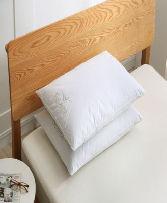 Balance Bed Pillow Twin Pack, Memory Foam Core with Nano Feather Surround Jumbo