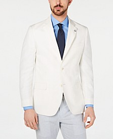 Men's Modern-Fit Solid Sport Coat