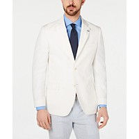 Deals on Nautica Men's Modern-Fit Solid Sport Coat