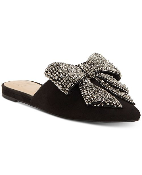 INC International Concepts I.N.C. Macaria Pointed-Toe Mules, Created for Macy's