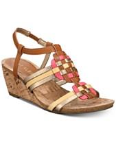 324cd725deb Anne Klein Tilly Wedge Sandals