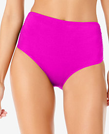 Anne Cole Live In Color High-Waist Swim Bottoms