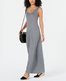Style & Co Sleeveless Asymmetrical-Seam Maxi Dress, Created for Macy's