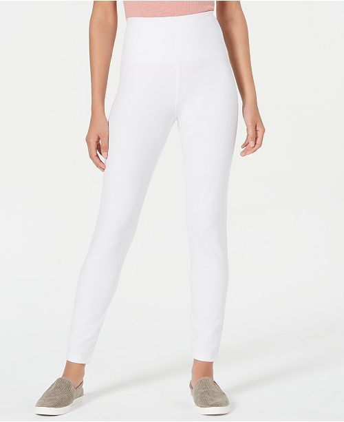 d1896e7dab Style & Co Tummy-Control Leggings, Created for Macy's & Reviews ...