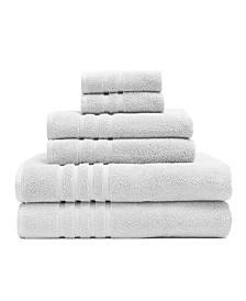 Elite Home 6-Pc. Rayon from Bamboo Towel Set