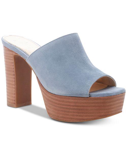 Jessica Simpson Camree Platform Slide Dress Sandals