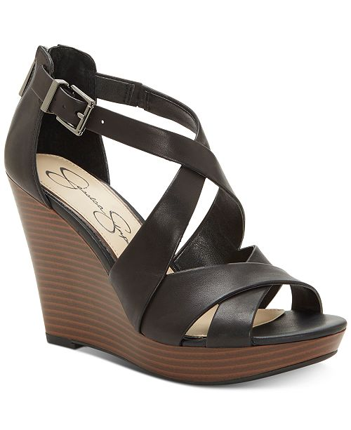 Jessica Simpson Jakayla Wedge Sandals