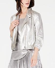 I.N.C. Metallic Jacket, Created for Macy's