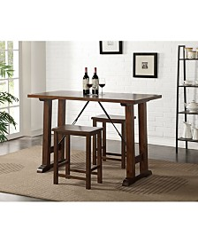 Filbert 3-Piece Pk Counter Height Set