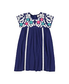 Masala Baby Girls Rosa Dress Royal
