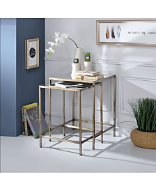 Yumia 2-Piece Nesting Tables Set