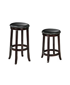 Chelsea Counter Height Stool with Swivel (Set of 2)